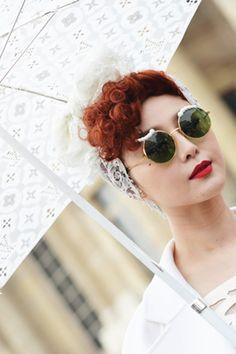 #louisvuitton #white rainwear for #fashionweek