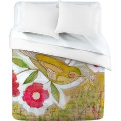 I pinned this Sweet Meadow Bird Duvet Cover from the Cori Dantini event at Joss and Main!