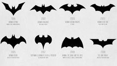 Infographic: The Evolution Of The Batman Logo, From 1940 To Today fastcodesign.com