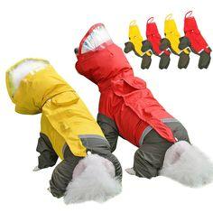 Schnauzer Dogs, Beagle Dog, Boxer Dogs, Large Dog Clothes, Pet Clothes, Big Dogs, Large Dogs, Dog Jacket, Rain Jacket