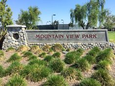 The Mountain View Park sign in Eastvale, California. #eastvaleparks http://youreastvalerealtor.com/eastvale-parks/