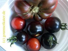 Tomate Schwarzer Prinz und Krim-Tomate #gardening #food