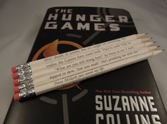 Hunger Game Pencils