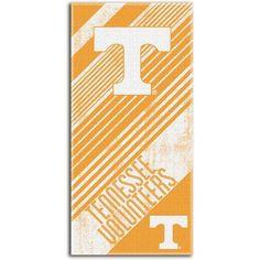 Ncaa Beach Towel Diagonal Series, University of Tennessee, Multicolor