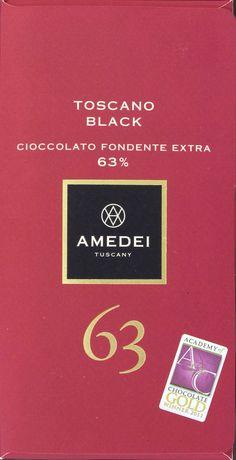 Amedei Toscano Black, 63%