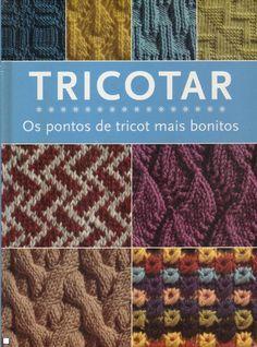 Tricotar-os Pontos de Tricot Mais Bonitos - Ampliar Imagem Knitting Stiches, Knitting Books, Crochet Stitches, Baby Knitting, Knitting Patterns, Knit Crochet, Baby Kimono, Knitting Magazine, Le Point