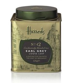 Harrods Earl Grey, drink this instead of reaching for something more sugary or boozey. This is *the best* earl grey I've ever had and perfect replacement for other special drinks. One cup a day keeps the duldrums away! Vegan Teas, Relax, Earl Grey Tea, Tea Tins, Best Tea, Tea Service, Loose Leaf Tea, Luxury Beauty, Luxury Gifts