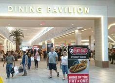 20161229 THE FLORIDA MALL 「DININIG PAVILION」には様々なファストフード店がありました。 ここでは食べていません。