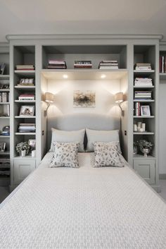 popular small master bedroom makeover ideas 31 ~ Home Design Ideas Small Master Bedroom, Master Bedroom Makeover, Master Bedroom Design, Home Decor Bedroom, Bedroom Wall, Bedroom Ideas, Bed Room, Ikea Bedroom, Master Suite