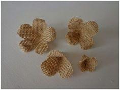 Entre anhelos y caprichos: Portafotos con filtros de café y Tutorial flor de arpillera