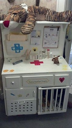 diy desk from dresser fun Ideas desk For KidsTrendy diy desk from dresser fun Ideas desk For Kids Set up a Farmer's Market or Fruit and Veg shop in your dramatic play and imaginative play space Diy For Kids, Crafts For Kids, Diy Kids Furniture, Woodworking Furniture, Upcycled Furniture, Bedroom Furniture, Furniture Buyers, Furniture Dolly, Furniture Removal