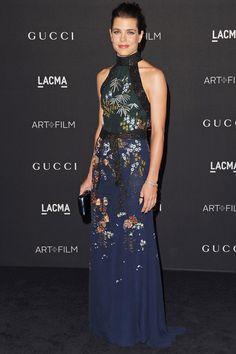 Charlotte Casigrani in Gucci