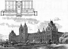 Alfred Waterhouse project of the Natural History Museum