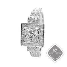 A Jaffe White Palladium Signature Series Halo Engagement Ring With Carat Diamonds Bridal Collection, Wealth, Heart Ring, Engagement Rings, Detail, Luxury, Gold, Gifts, Processing Time