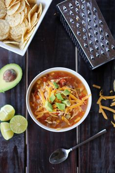 Everyday Reading: Slow Cooker Chicken Tortilla Soup