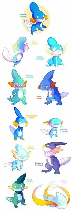 Mudkip is by far me fav Pokemon!!