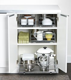 Howards Storage World can help get your bottom cupboard back on track.