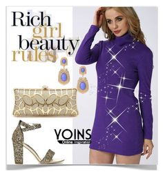 """""""Beauty rules Yoins"""" by kiveric-damira ❤ liked on Polyvore featuring yoins, yoinscollection and loveyoins"""