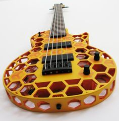 Olaf Diegel from ODD prints intricate and complex guitars!