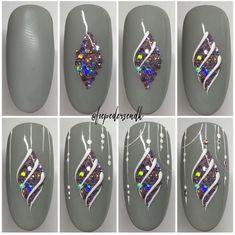 Semi-permanent varnish, false nails, patches: which manicure to choose? - My Nails Xmas Nail Art, Xmas Nails, Christmas Nail Art Designs, Holiday Nails, Cool Nail Art, Christmas Nails, Fancy Nails, Cute Nails, Pretty Nails