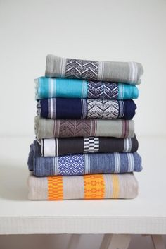 Mungo Mali Cloth range, a textile inspired by the traditional woven patterns of West African strip cloth.