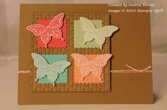 In Color butterflies by andib_75 - Cards and Paper Crafts at Splitcoaststampers