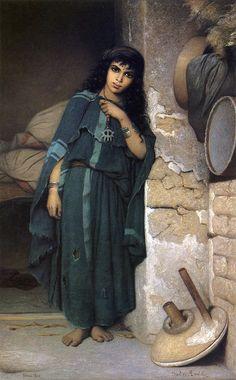 Charles Landelle - Algerian Girl