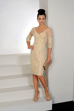 IR8505 Gold - Irresistible - Mother Of The Bride Dresses