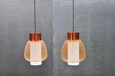 Asian Mid-Century Lantern Pendants : 20th Century Vintage Industrial : Modern Fifty