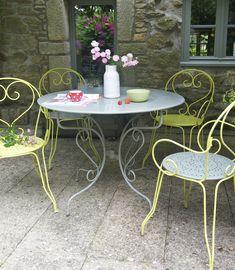 Repeindre un salon de jardin en fer : c\'est facile | jardin ...