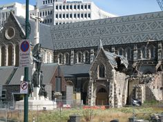 Chrisychurch NZ , after the earthquake , terrible