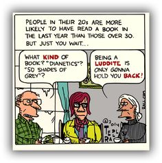 Ted Rall: Twenty-Something and Bookish [toon]