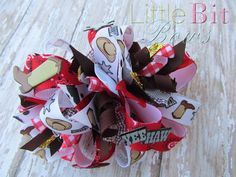 Yee Haw Rodeo Funky Bow by littlebitbows on Etsy