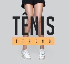 Tênis é trend  e nossa coleção verão está c h e i a de modelos lindos. Confere em tanarabrasil.com.br