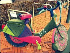 crochet bicycle