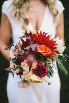 bridal bouquet idea; featured photo: Lara Hotz Photography