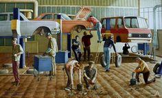 Марченко Владимир Яковлевич (1959) «Будни труда» 1986