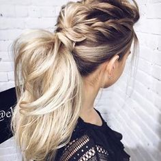 TEXTURED • PONYTAIL #texturedponytail #ponytail #hairstyle #hairstyles #melbournehairblogger