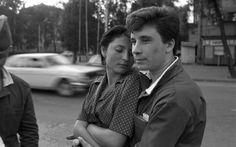 A soldier in dismissal. Novokuznetsk, 1982. Photo by Vladimir Vorobiev