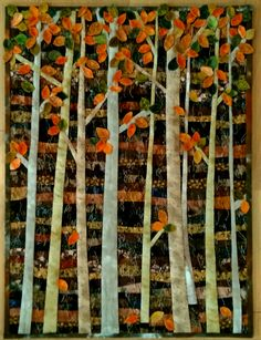 """""""Autmn forest"""" by melipatch 2015 Autumn Forest, Quilts, Painting, Home Decor, Art, Scrappy Quilts, Art Background, Decoration Home, Room Decor"""