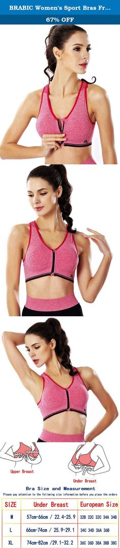 BRABIC Women's Sport Bras Front Zipper Padded Seamless Workout Yoga Gym Pack of 3 (L, Red). Sports Bra's Features: Racerback gives maximum freedom of movement Zipper front and Removeable Pads for convenience Sleek,stretchy fabric is wicking,breathable Lightweight,super soft,smooth,stretchy and super-breathable Pullover Style Machine washable Wide Shoulder Straps Why choose us ? We have over 10 years experience of manufacturing sport bra, so do not worry about the quality All the sport…