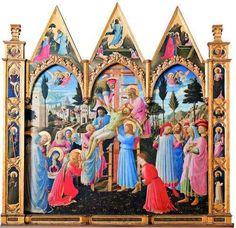Pala da Santa Trindade - por Fra Angélico, Convento de São Marcos, Florença (Itália).jpg