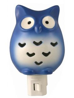 Porcelain Owl Night Light $17.99 #karmakiss #unique #gifts