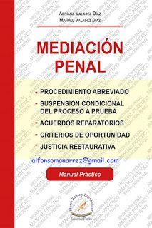 LIBROS EN DERECHO: MEDIACIÓN PENAL PROCEDIMIENTO ABREVIADO SUSPENSIÓN...