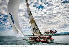 Photo by Yves Ryncki - Raffica, Class Libera, winner of the monohulls for the consecutive second year