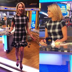 That time I found @ajrobach a $60 dress by @necobjects from @century21stores! She rocked it!! Heels ... #yooying Shirt Dress, T Shirt, Dresses, Style Board, Shirts, Style, Amy, Tshirt Dress, Fashion