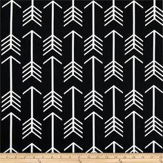 Premier Prints Arrow Black Body Pillow Cover in many sizes 50x20, 54x20, 56x20, 60x20 with Hidden Zipper