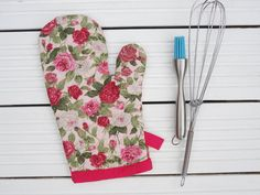 Oven Glove Apron And Glove Set Black & Purple Oven Mittens Heat Amazing Kitchen Mittens Inspiration