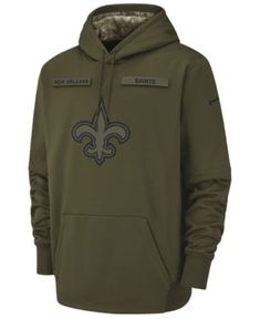 Nike Men s New Orleans Saints Salute To Service Therma Hoodie - Green XL  Nfl Titans 1b6cf4215