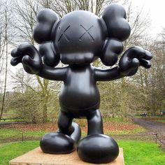 Kaws sculpture at Yorkshire Sculpture ParkKAWS artMore Pins Like This At FOSTERGINGER @ Pinterest